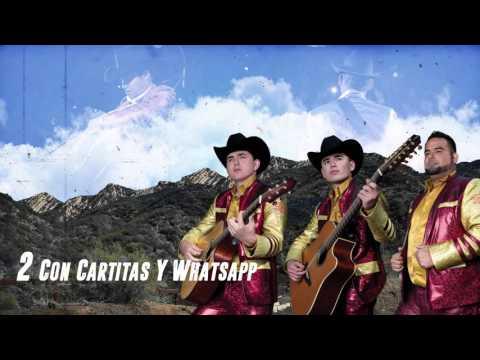 Con Cartitas Y Whatsapp - Los Plebes del Rancho de Ariel Camacho - DEL Records 2016