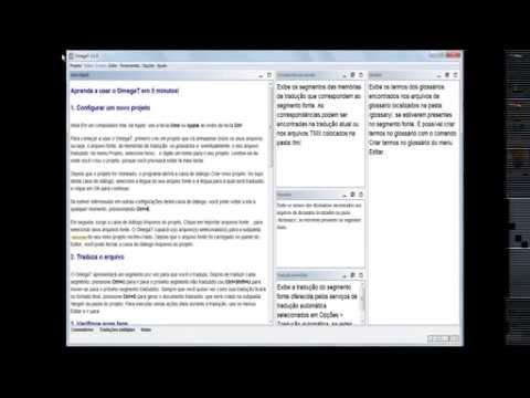 Dúvidas comuns sobre a CAT tool gratuita OmegaT
