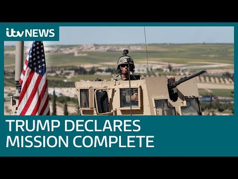 US to withdraw all troops from Syria | ITV News