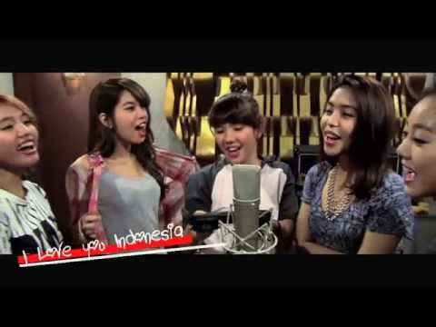 S.O.S - I LOVE YOU INDONESIA ( Official Lyric Video )   Beautiful Sexy Girl band