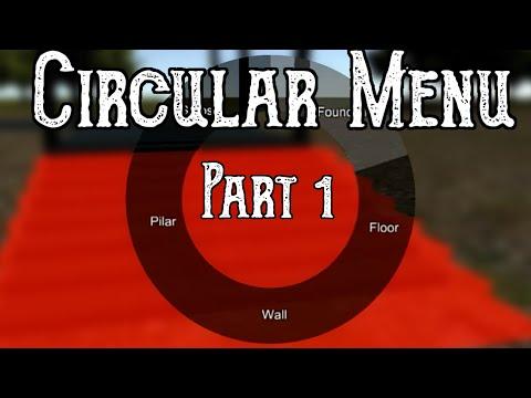 Unity 5] Tutorial: How to make a Circular (Pie) menu part 1