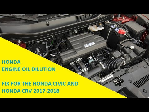 Oil Dilution Update - Honda Announces Fix For CR-V and Civic