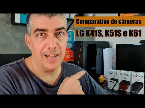 LG K41S, K51S e K61, qual o melhor conjunto de câmeras?