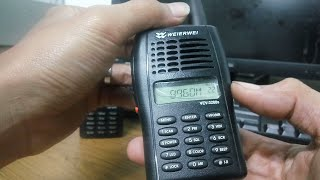 Cara Mendengarkan Radio FM Pada Wakly Talky Weierwei VEV-3288s