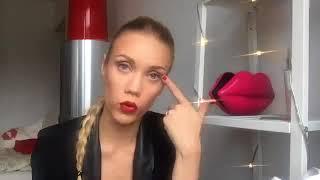Елена Крыгина   Уроки макияжа   'Про перелеты