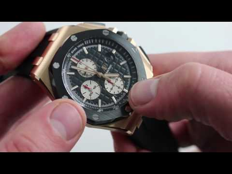 Pre-Owned Audemars Piguet Royal Oak Offshore Chronograph 26401RO.OO.A002CA.01 Luxury Watch Review