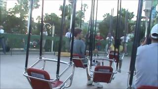 Silly Symphony Swings - California Adventure - Anaheim, California - Complete Ride