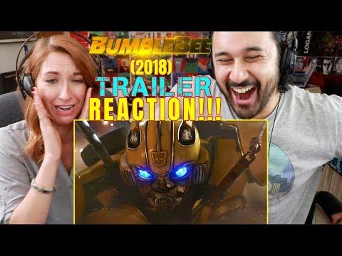 BUMBLEBEE (2018) - New Official TRAILER REACTION!!!