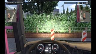 LKW Rangier-Simulator Gameplay HD