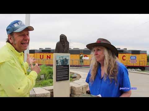 Keneficks Union Pacific Park, Omaha, Ne.  Travel USA, Mr. Peacock & Friends, Hidden Treasures