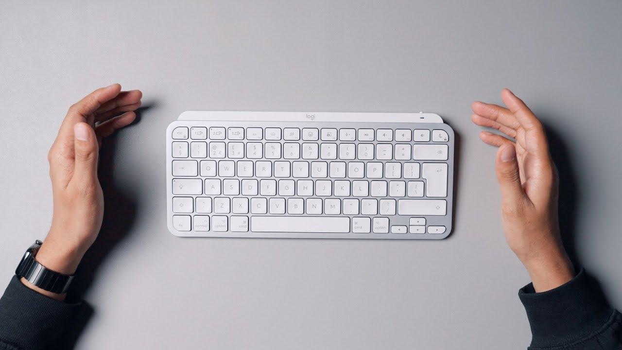 The Best Keyboard Right Now? - MX Keys Mini for Mac