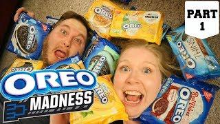 OREO Madness Part 1| Taste Test Tournament