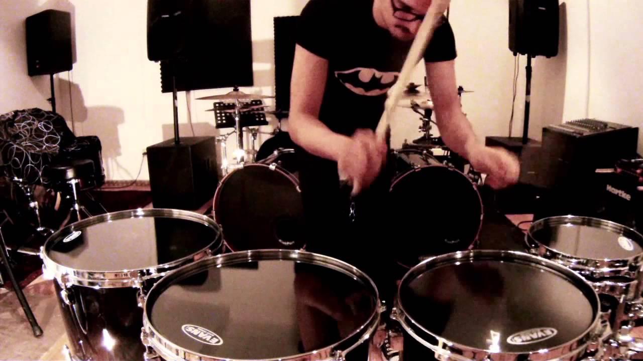 "Evans 10/"" Black Chrome Drum Head"