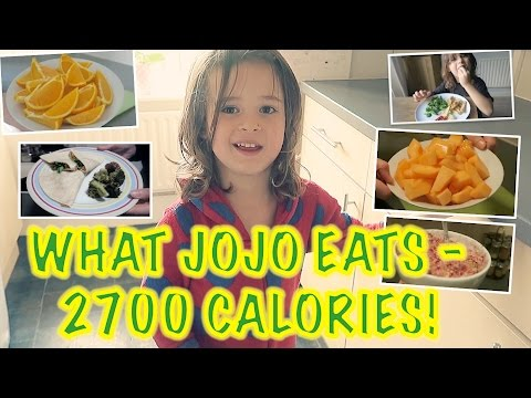 What My 4 Year Old Vegan Eats In A Day | 2700 Calories!