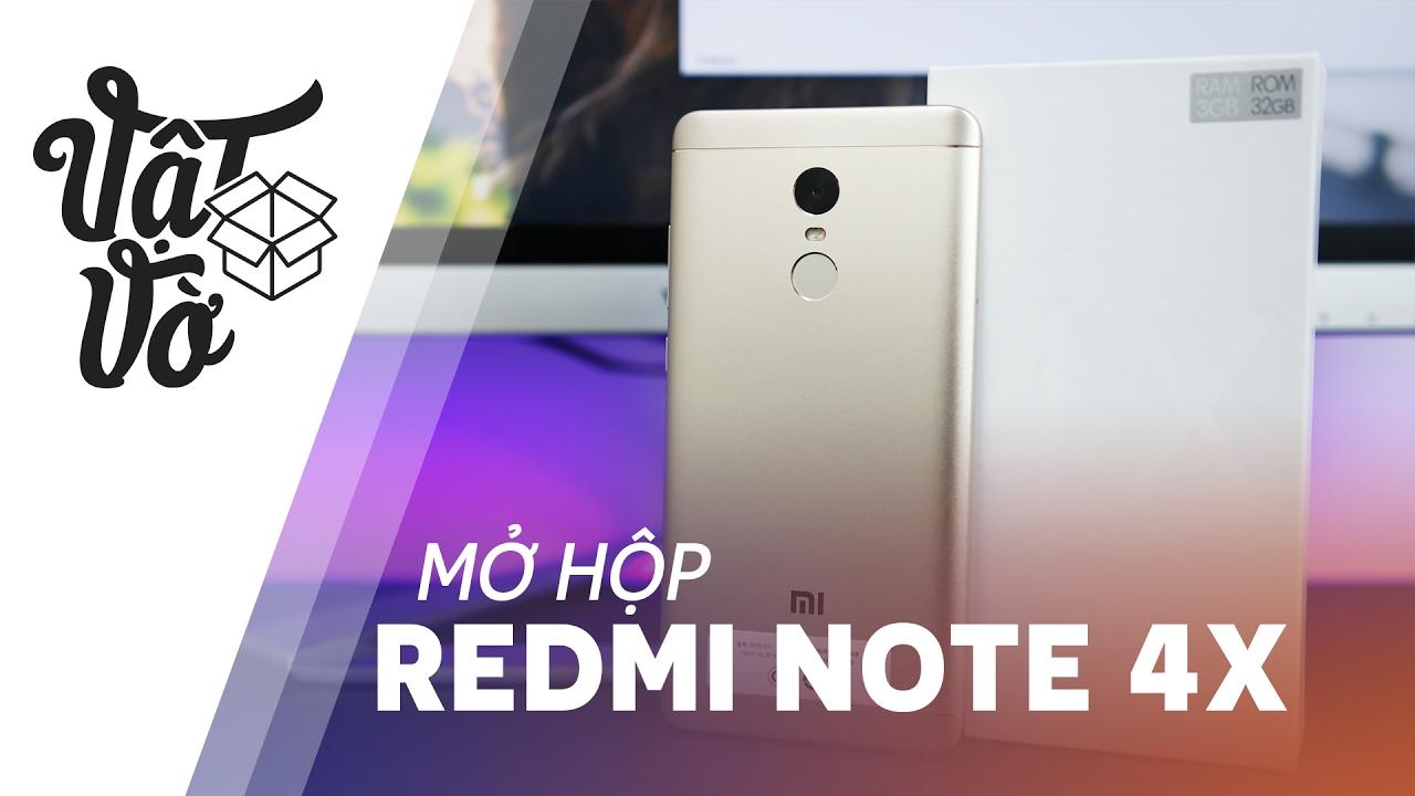 Vật Vờ| Mở hộp & trên tay Xiaomi Redmi Note 4X: Snapdragon 625, thiết kế thay đổi nhẹ