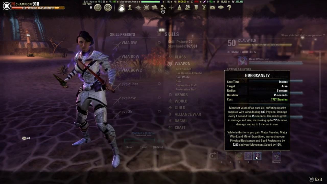 Image Result For Eso Stamsorc Build