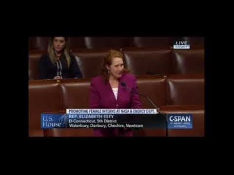 Rep. Elizabeth Esty (CT-5) discusses her bill, the Women in Aerospace Education Act, on the House floor.