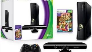 4GB XBOX 360 Slim Kinect Bundle Unboxing!