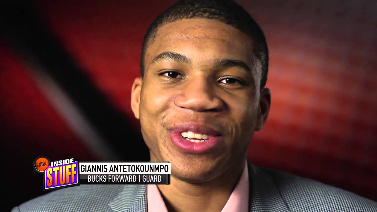 Giannis Antetokounmpo Adjusts to the US on Inside Stuff ...