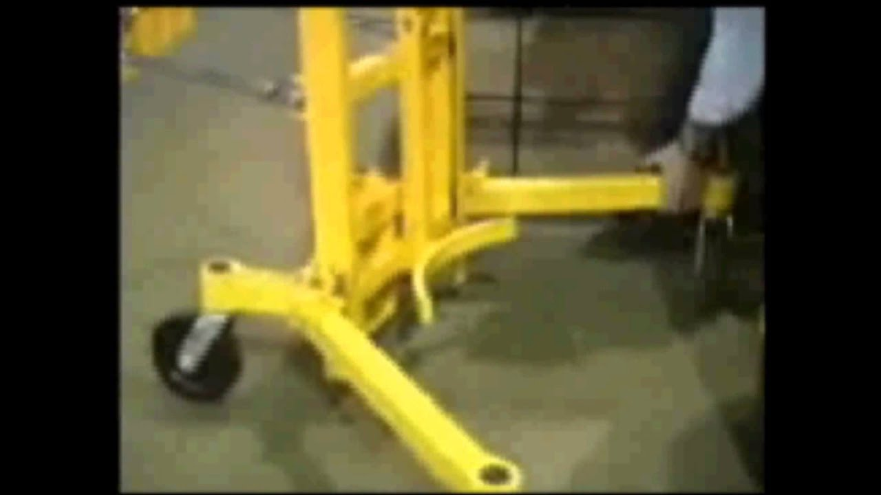 Hand Crank Drum Lift and Transporter