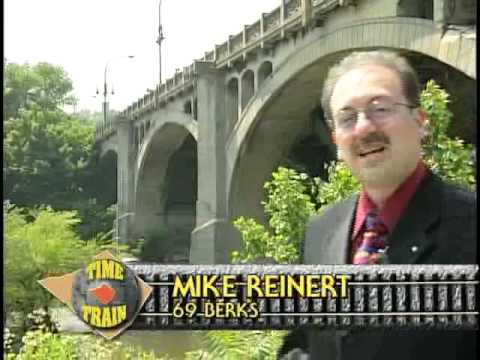 The history of the Penn Street Bridge in Reading, PA