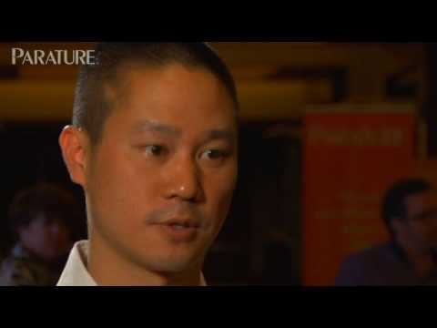 Interview with Tony Hsieh, Zappos CEO, at ParaFest '09