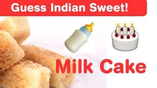 Indian Sweets Emoji Challenge! Guess Diwali Sweet Dishes
