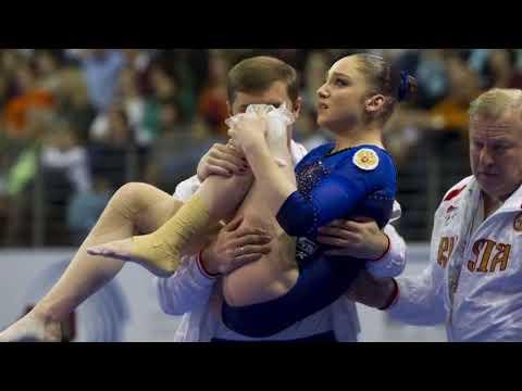травмы в спортивной и художественной гимнастике