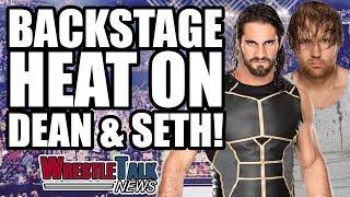 WWE Vs GFW! Backstage HEAT On Seth Rollins & Dean Ambrose!