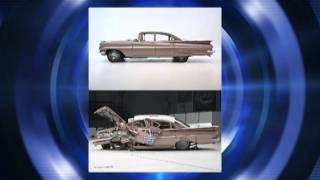 Teste de impacto frontal entre um carro antigo e um carro moderno - Carros e Marcas TV