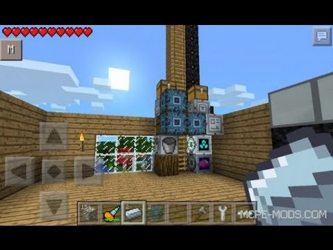Установка мода Factorization на Minecraft PE 0.10.4