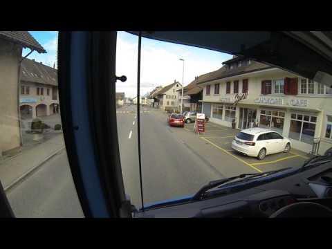 Truck driver's view (Switzerland): Iveco Stralis 450 EEV