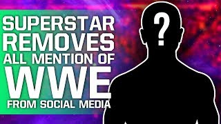 Superstar Removes All Mention Of WWE From Social Media | AEW Tease Huge Shock For Double Or Nothing