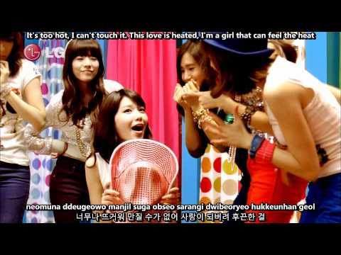 SNSD (Girls' Generation) - Gee MV [English subs + Romanization + Hangul] 1080p