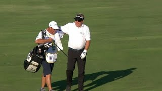 Carl Pettersson holes out for the big bird at Sanderson Farms