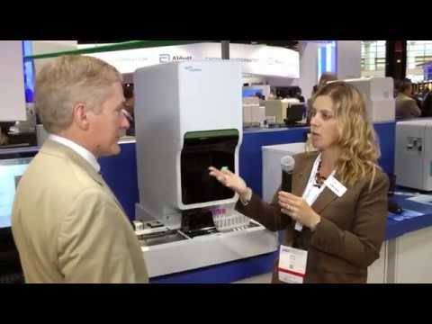 XN-1000 display in Sysmex booth at AACC 2014
