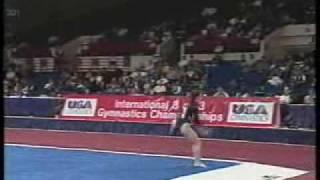 Francesca Morotti - 1997 International 3 on 3 Championships - Floor Exercise