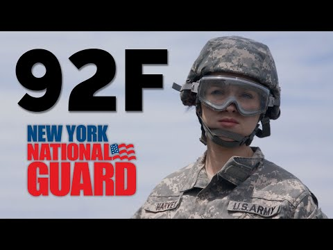 Petroleum Supply Specialist (92F) - New York Army National Guard