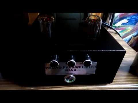 Фонокорректор на лампах 6н9с -2шт. и 6н8с -2шт.