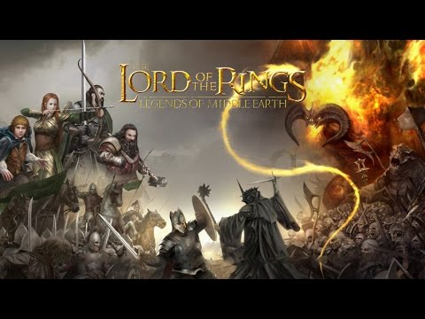 The Lord of the Rings: Legends of Middle-Earth (by Kabam) - iOS / Android - HD Gameplay Trailer
