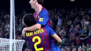 Barcelona vs Real Mallorca (5-0) - 29.10.2011 - Full HD --- Hatrick from Messi