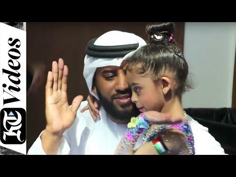 Six-year-old Emirati girl is making a mark in gymnastics