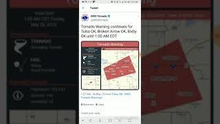 Tulsa, Oklahoma Tornado Emergency May 26th, 2019