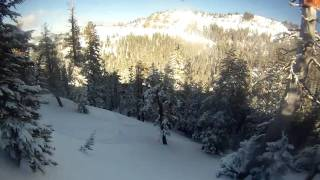 Alpine Meadows-Condo Run POWDER 2/26/11 Thumbnail