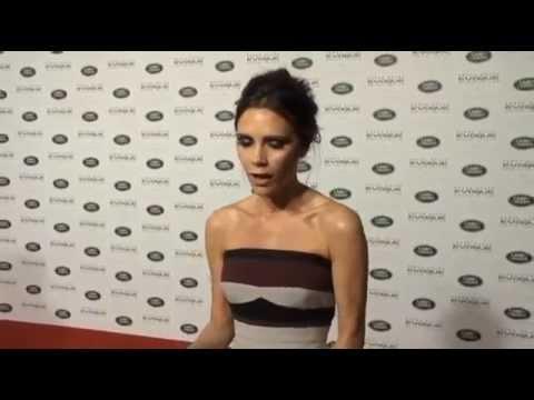 Victoria Beckham talks about her work for Range Rover Evoque SE - Beijing
