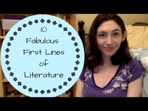 10 Fabulous First Lines of Literature