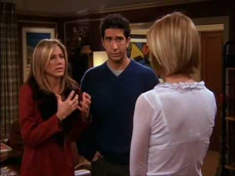 Friends Season 8: Ross Gets Yelled At - YouTube