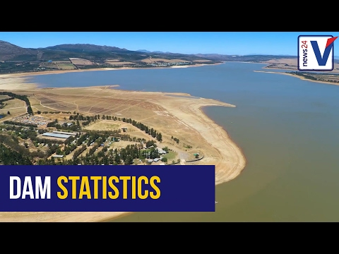 Cape Town dam levels at 37 year low