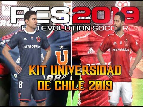 CAMISETA UNIVERSIDAD DE CHILE 2019 | PES 2019 | PS4