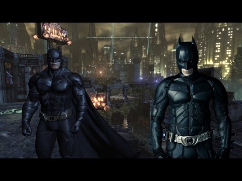 Batman Arkham City Dark Knight Suit Mod